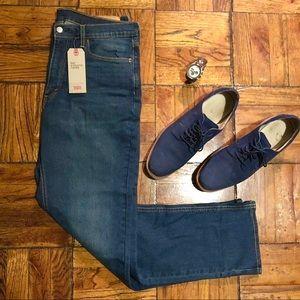 Levi's 541 Athletic Taper Men's Blue Jeans 36x34